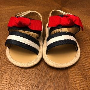 Baby Gap Knot Stripe Sandal